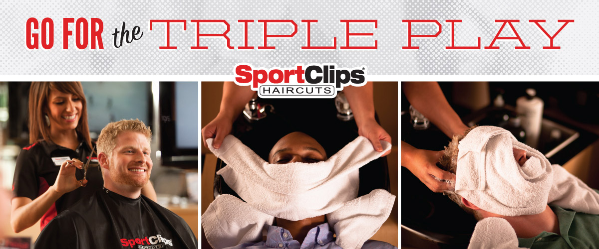 The Sport Clips Haircuts of Dunwoody Triple Play